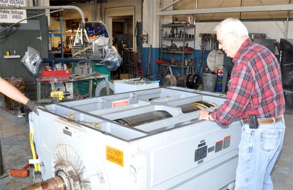 3000 Hp Electric Motor Repair