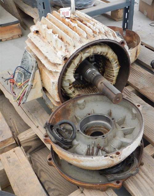 how to rebuild an electric motor