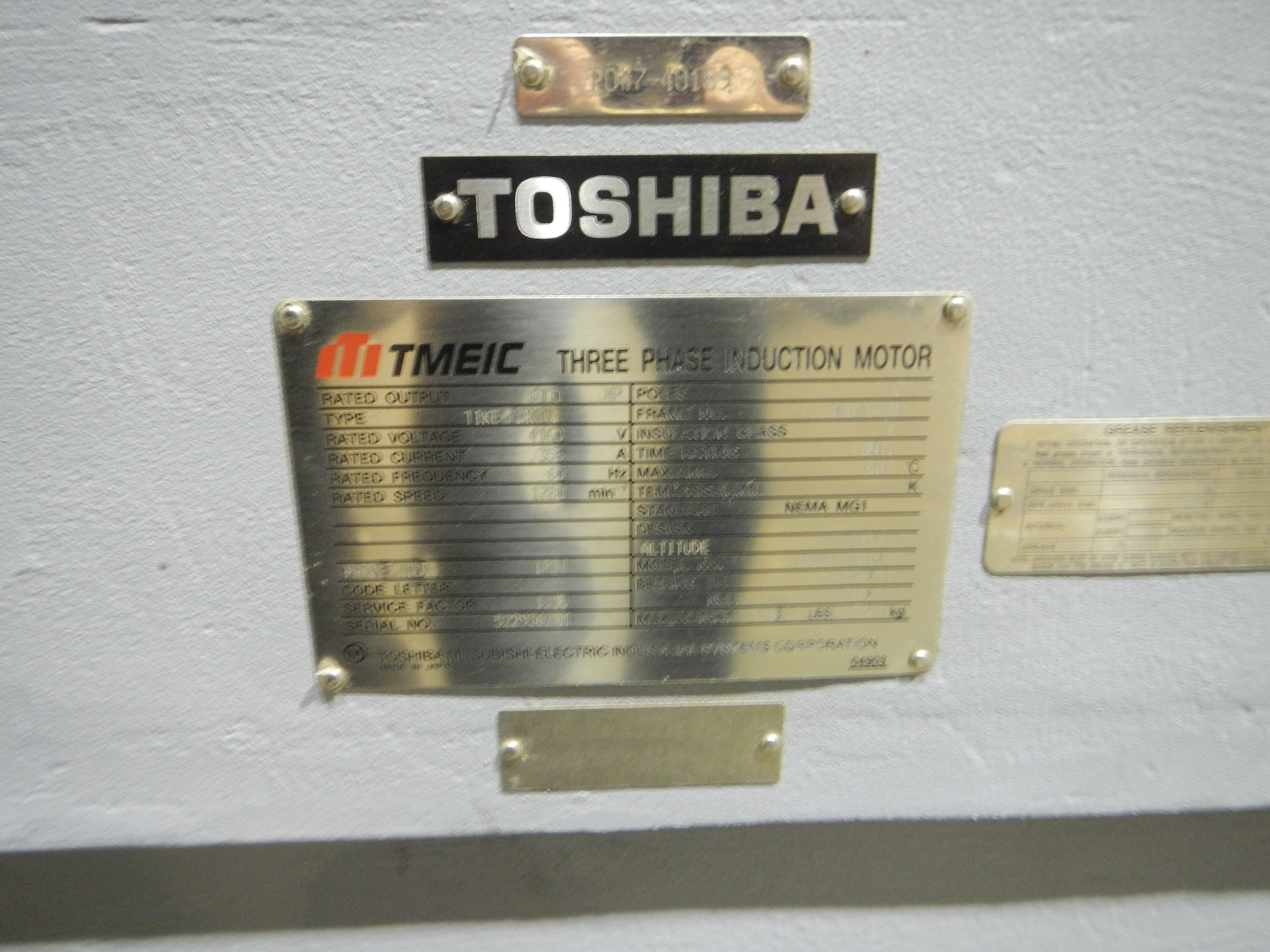 How To Read An Electric Motor Nameplate